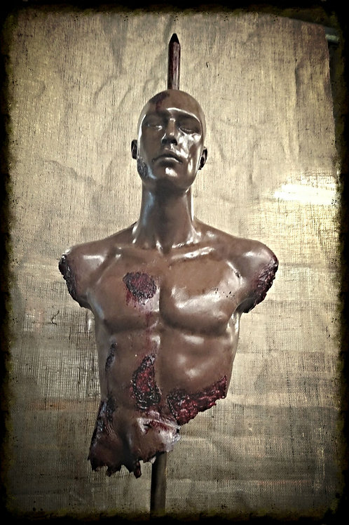 STAKED MALE TORSO