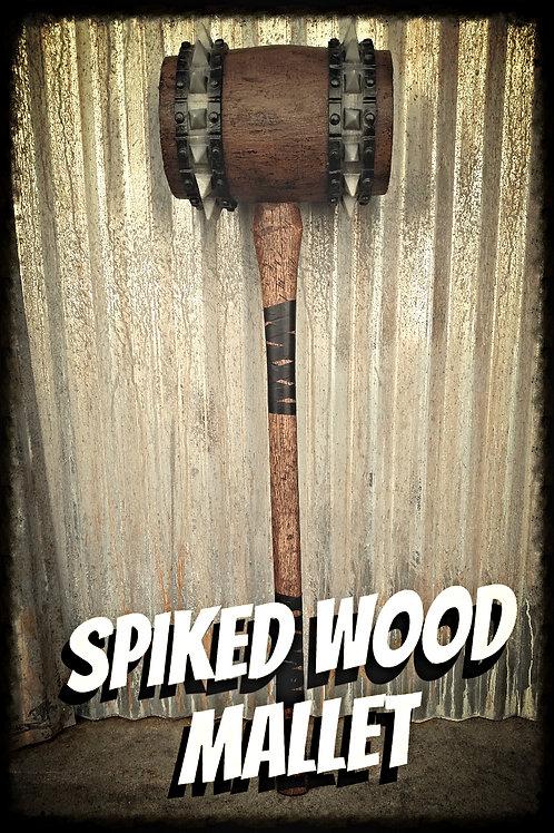 SPIKE WOOD MALLET