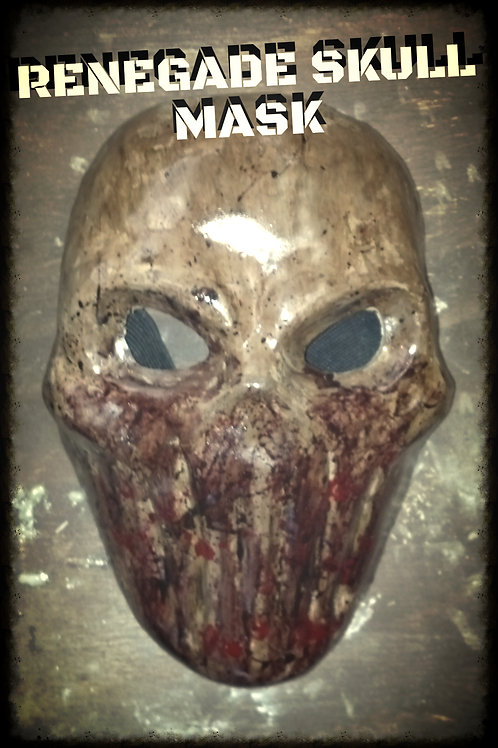 RENEGADE SKULL MASK (HARD RESIN)