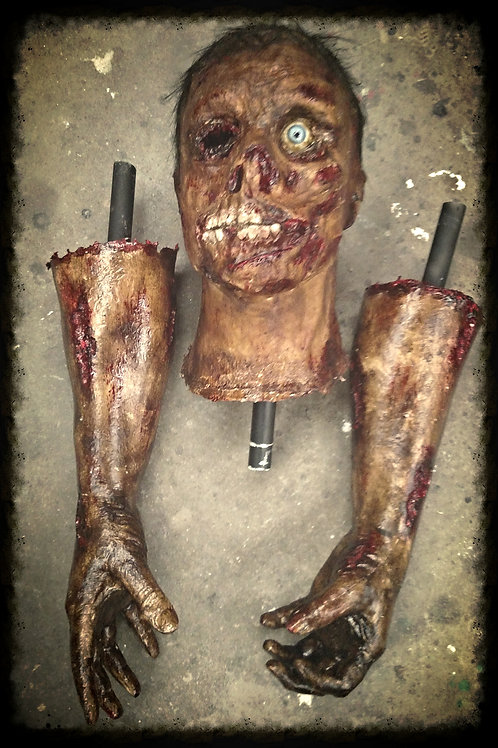 STAGE 2 ZOMBIE HEAD & HANDS KIT