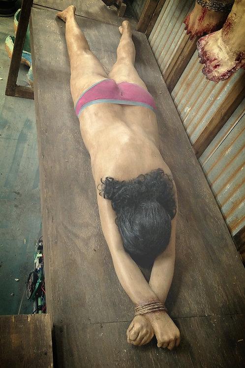 STRETCHED FULL BODY FEMALE