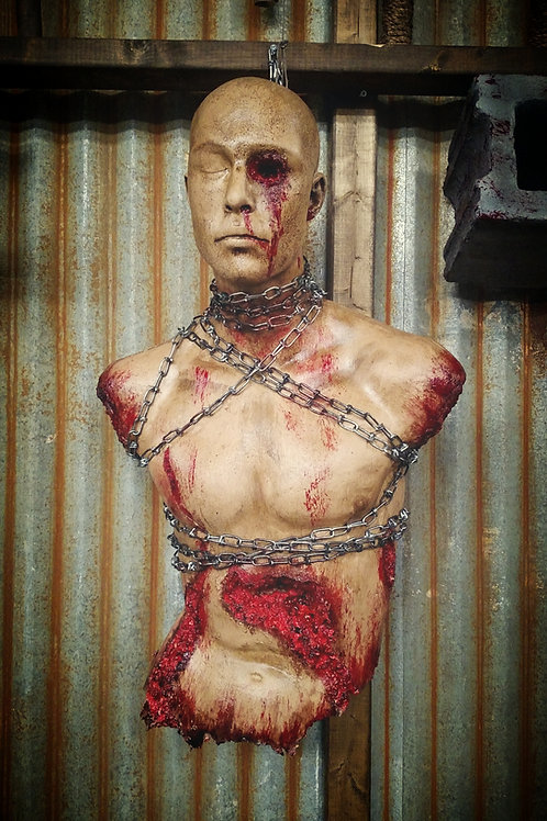 CHAINED 1/2 MALE TORSO