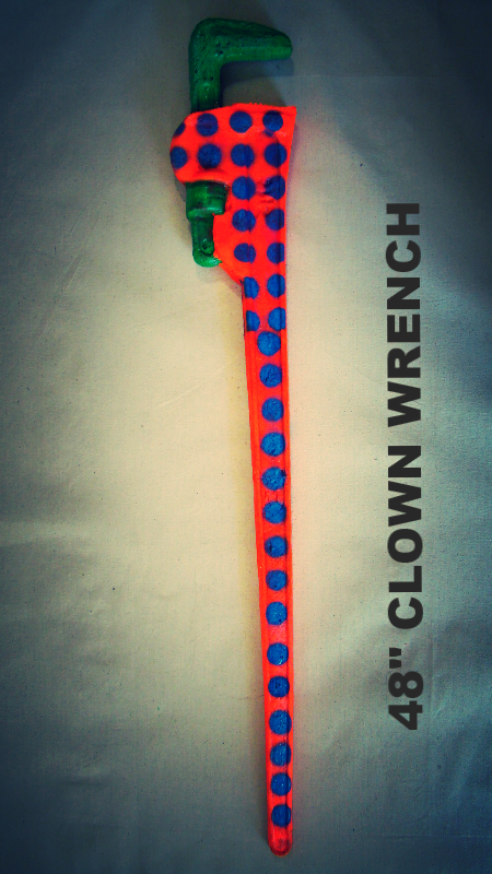 CLOWN PIPE WRENCH