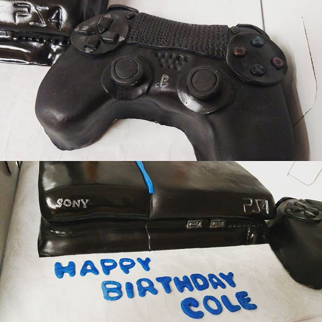#sweetchefpastry  #customcake #birthday #ps4 #playstation #sony #chocolatecake #chocolatebuttercream