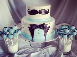 #sweetchef #sweechefpastry #babyshower #babyboy #vanillacake #vanillabuttercream #fondant  #satinice