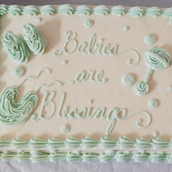 Instagram - #sweetchefpastries #sheetcake #vanillacake #vanillabuttercream #freshblueberryfilling #b