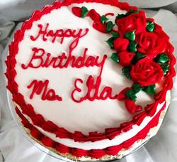 #sweetchef #sweetchefpastry #birthday #neighbor #lemoncake #vanillabuttercream #roses