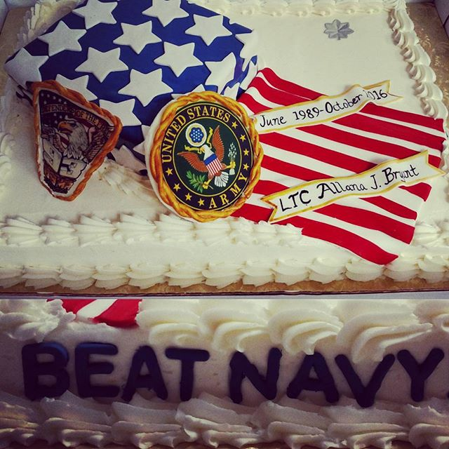 #sweetchef #sweetchefpastry #retirement #army #westpoint #armedforces #americanflag #starsandstripes