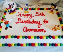 #sweetchef #sweetchefpastries #sheetcake #birthday #marblecake #vanillabuttercream #noegg #temple #b