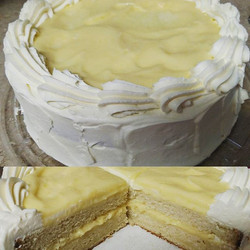 #sweetchef #sweetchefpastry #limoncellocake #mascarponewhippedcream #lemoncurd #lemonzest #taketwo #