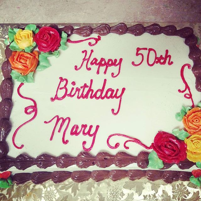 #sweetchef #sweetchefpastry #birthdaycake #fallbirthday #50 #yellowbuttercake #ganachefilling #vanil