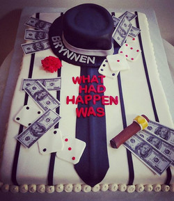 #sweetchefpastry #sweetchef #graduation #gangster #mobster #dice #tie #pinstripe #cigar #money #benf