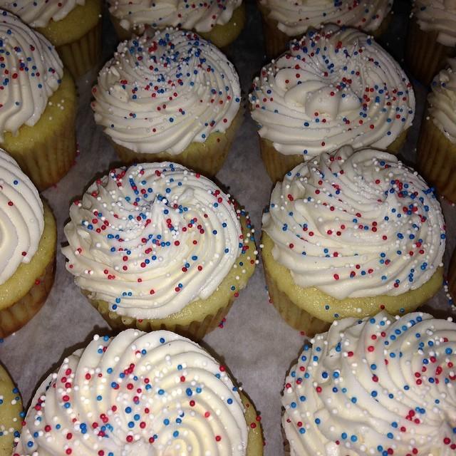 Happy President's Day! #sweetchef #redwhiteblue #holiday #vanillabean