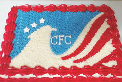 #sweetchef #sweetchefpastry #carrotcake #creamcheeseicing #cfc #military #redwhiteandblue
