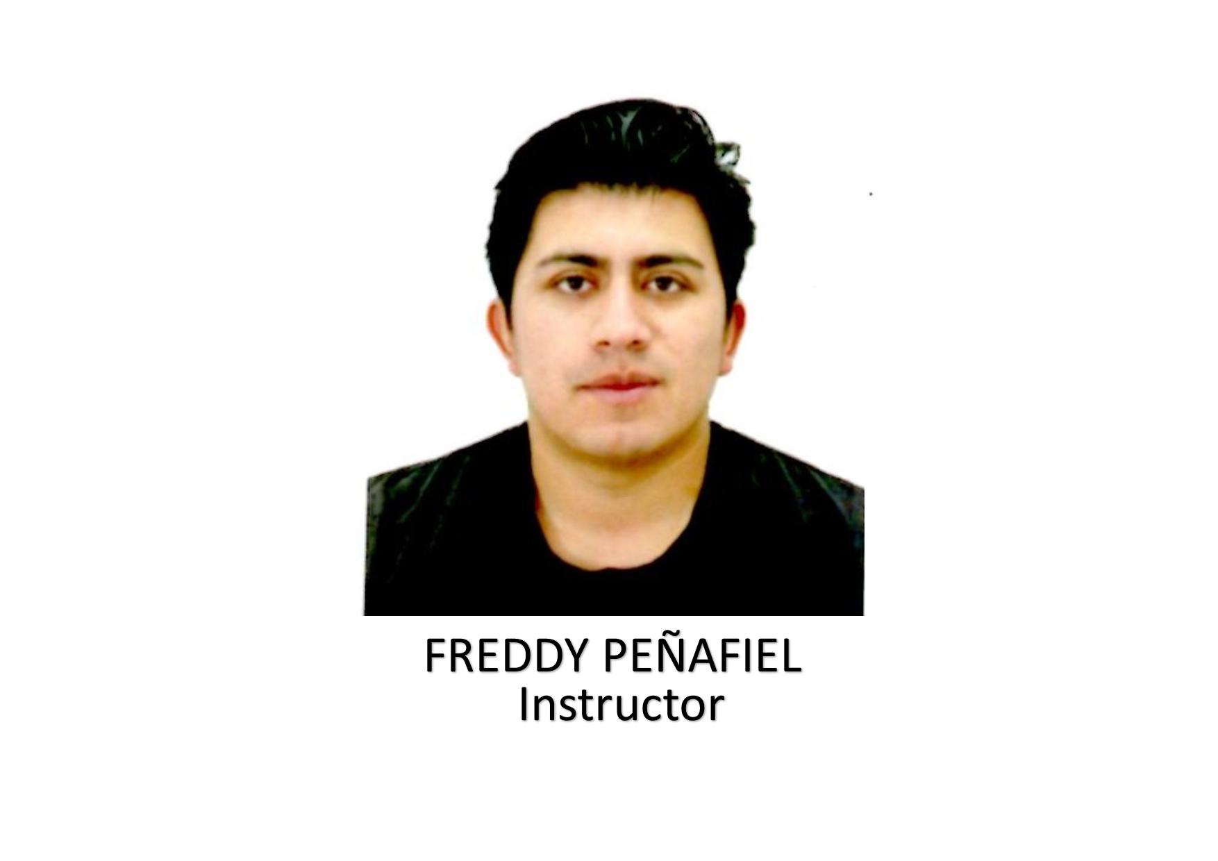 FREDDY PEÑAFIEL