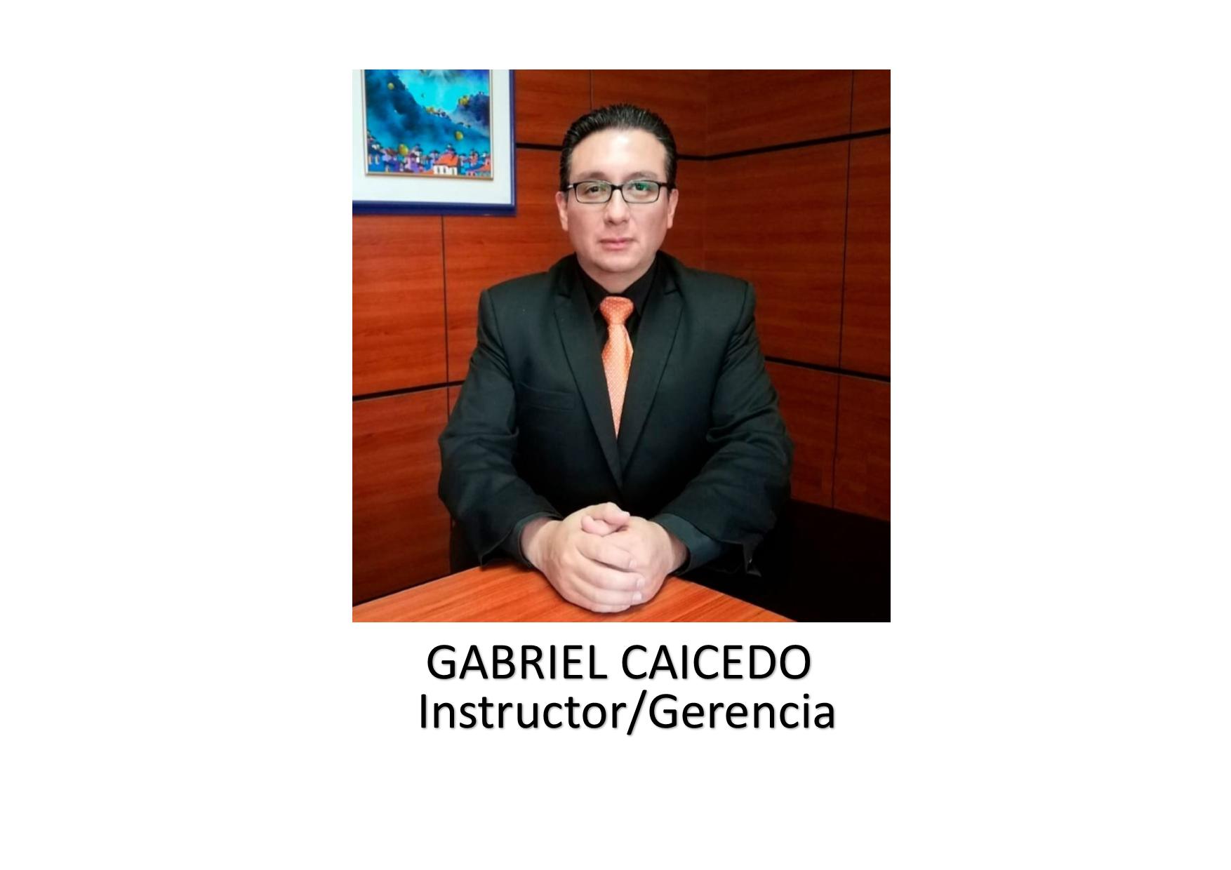 GABRIEL CAICEDO