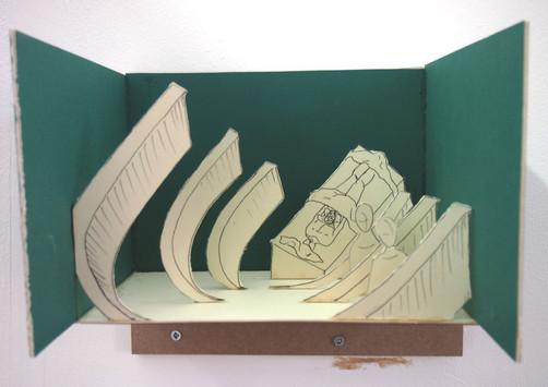 Play set of Surgeons' Hall anatomy theatre