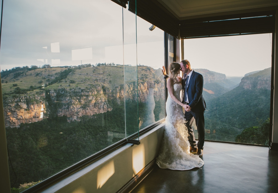 Marcus + Kim | The Gorge (a small family wedding with a view)
