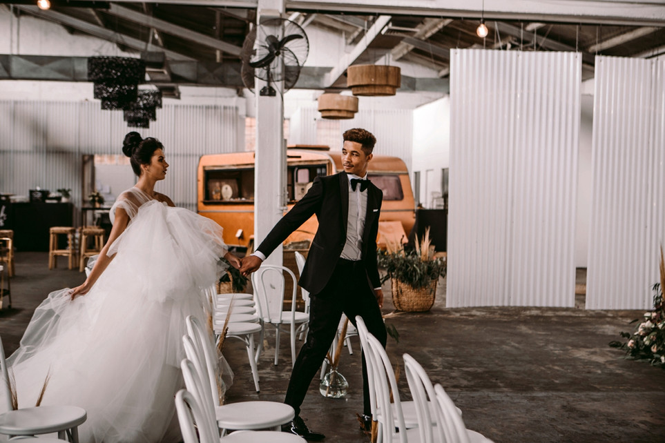 Industrial Wedding Revolution | A Styled Shoot