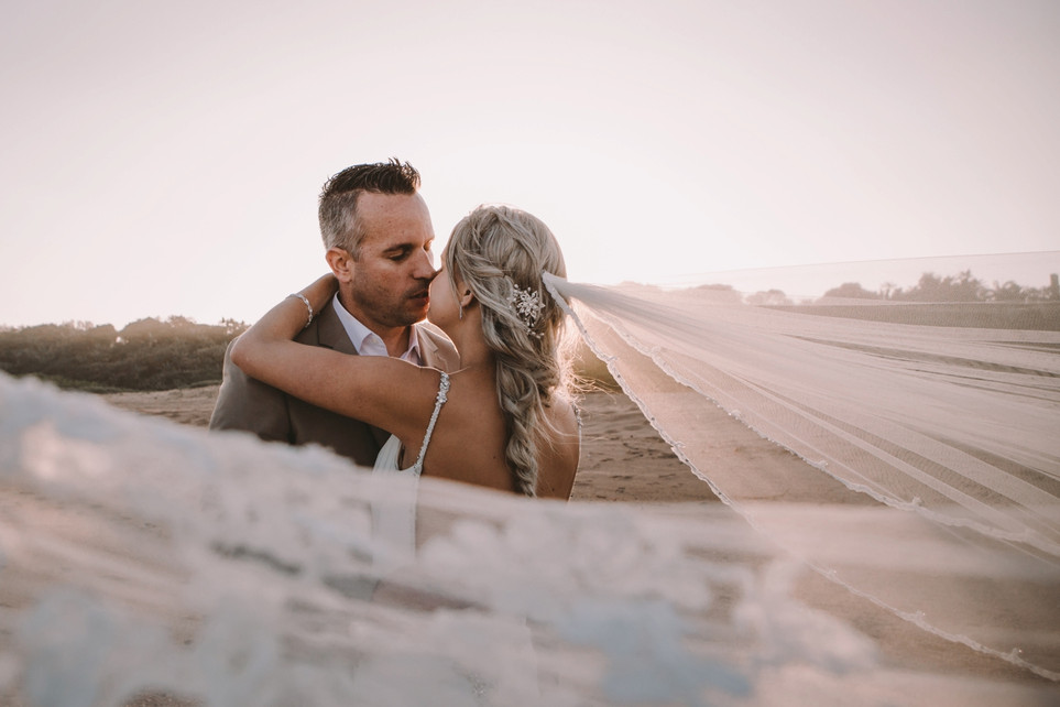 Ryan + Samantha | Palm Dune Beach Lodge