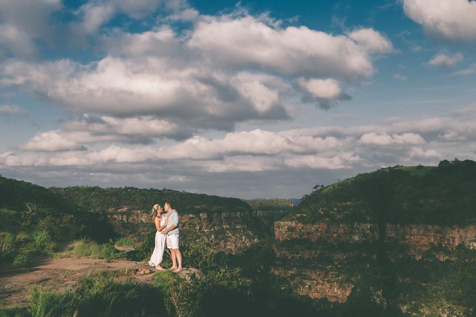 Charl + Gillian | Engagement Kloof Gorge Adventure