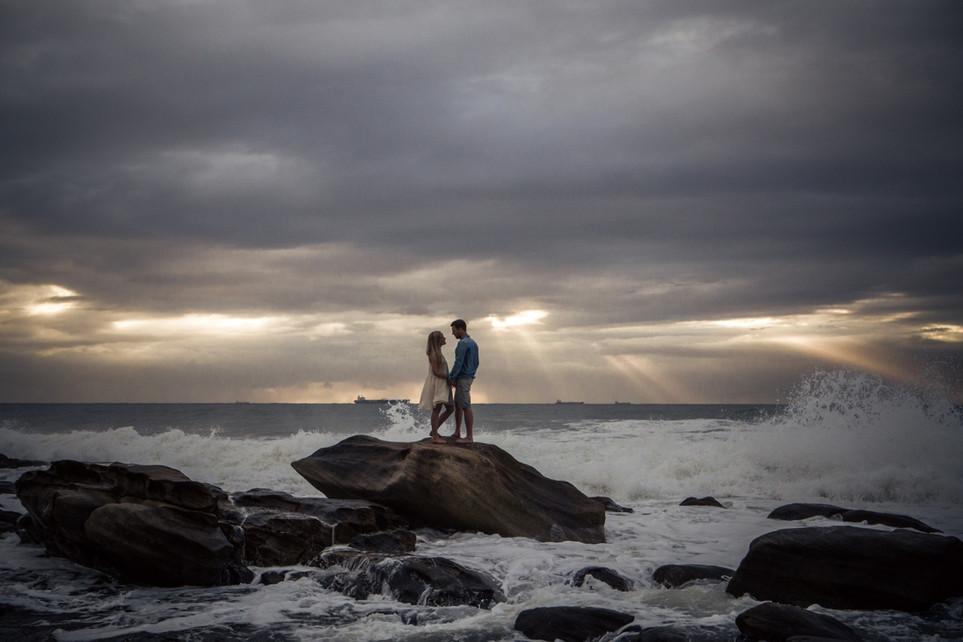 Jon + Therese | Umhlanga Rocks Engagement