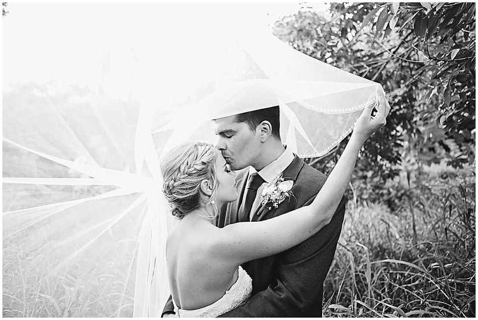 Denim + Jenna | An intimate home wedding