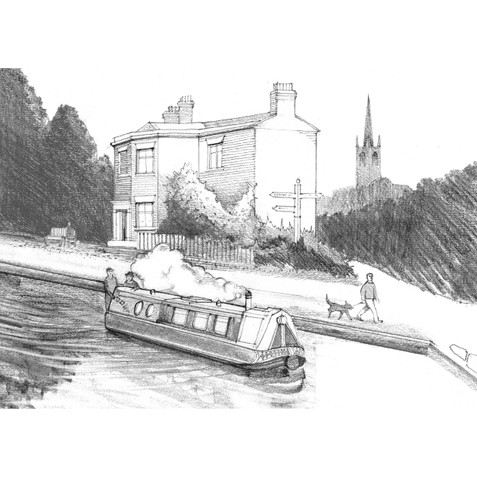 The Toll House, Kings Norton Canal Junction