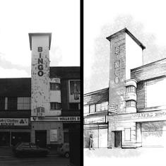 The Old Gaumont Cinema, Wednesbury