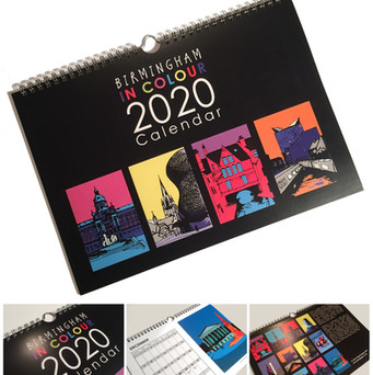 Birmingham In Colour calendar