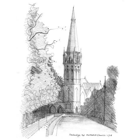 Cambridge Road Methodist Church. Kings Heath, Birmingham