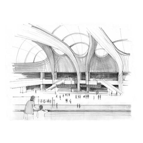 New Street Railway Station Atrium