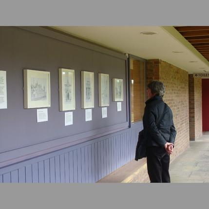 Work on display at Blakesley Hall