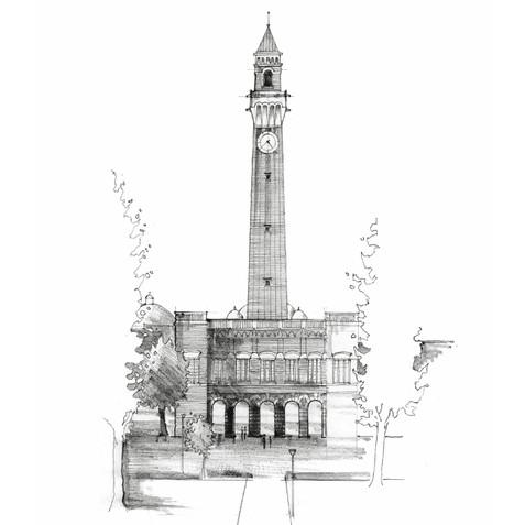 Birmingham University 'Old Joe'