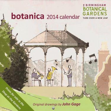 Birmingham Botanical Gardens Calendar