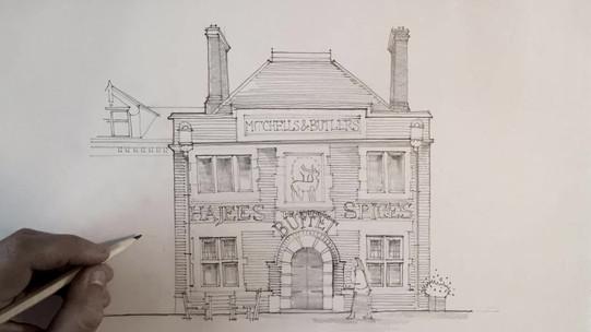 The Antelope Pub, Stratford Road, Birmingham