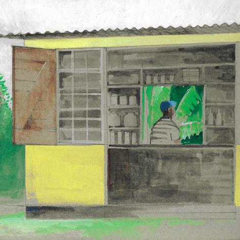 Roadside shop, Jamaica