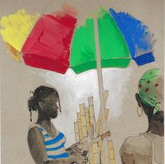 Selling Sugar Cane, Jamaica