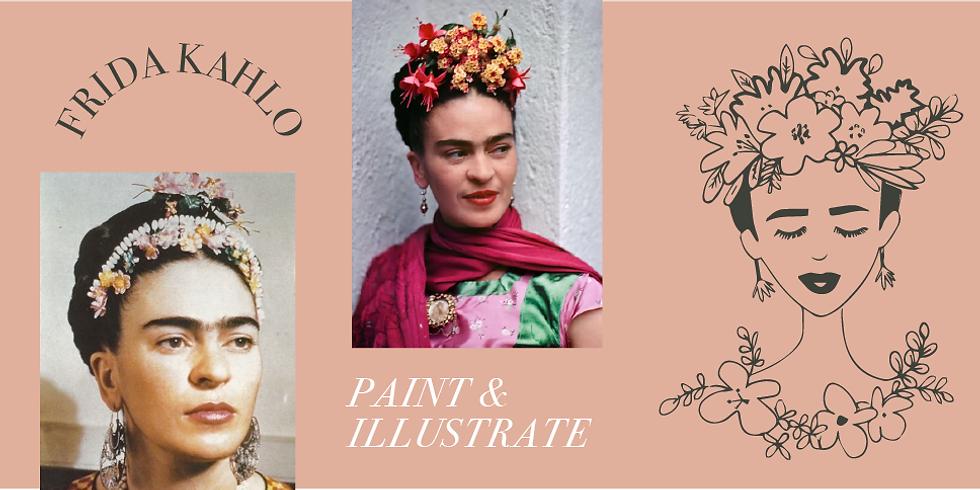Frida Kahlo Illustration & Painting Workshop