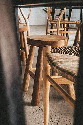wooden stools (8)