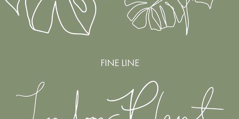 Open Hands - Fine Line Botanical Workshop (G+T)
