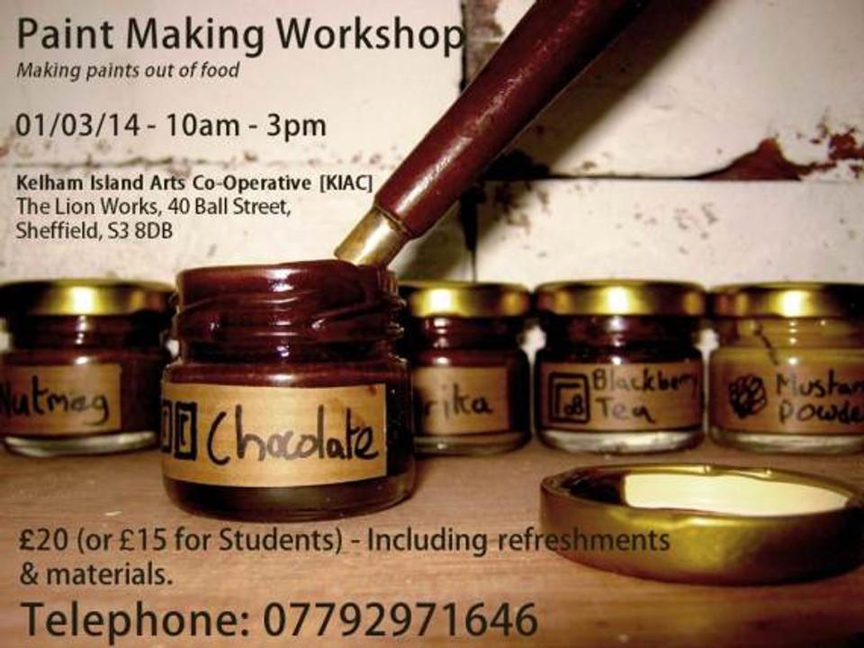 Paint making workshop
