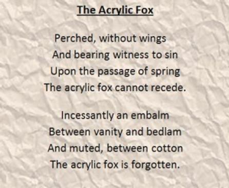 The Acrylic Fox