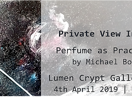 Exhibition Invitation – Perfume as Practice SS19
