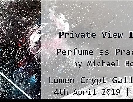 Exhibition Invitation – Perfume as Practice SS19