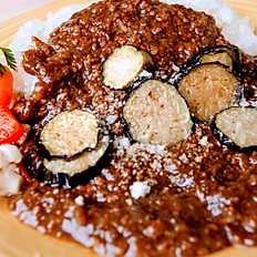 eggplant & minced meat