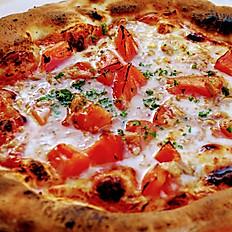 tuna & tomato pizza