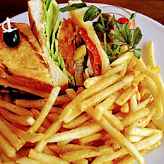 grilled vegetable & cheese
