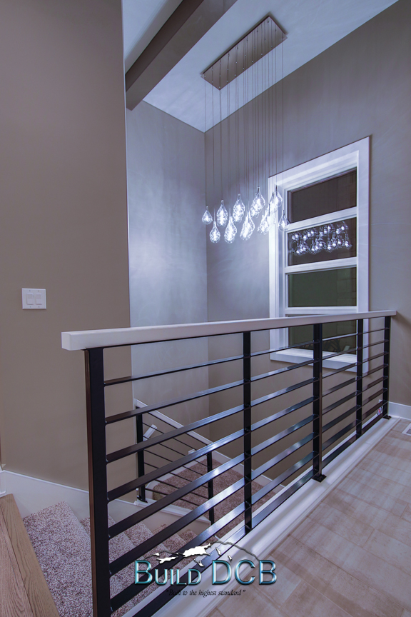 steel contemporary railings