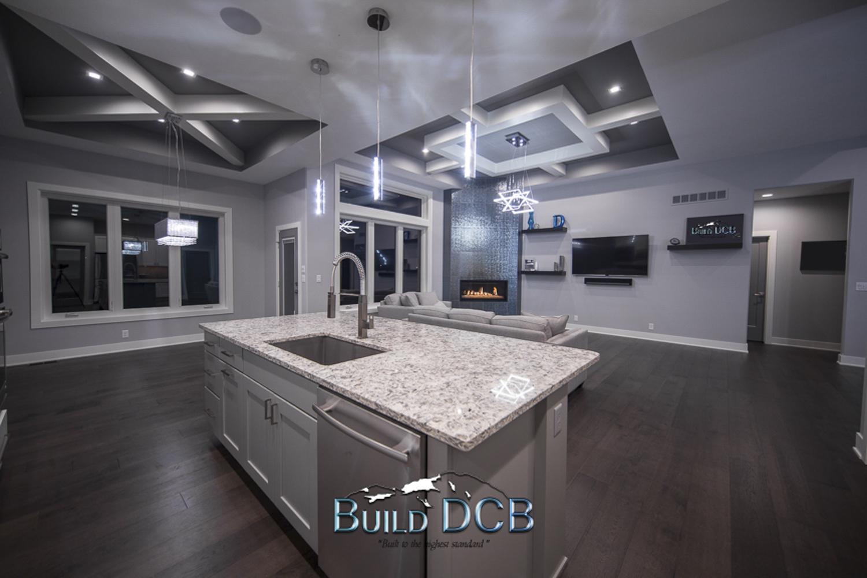 kitchen island open design